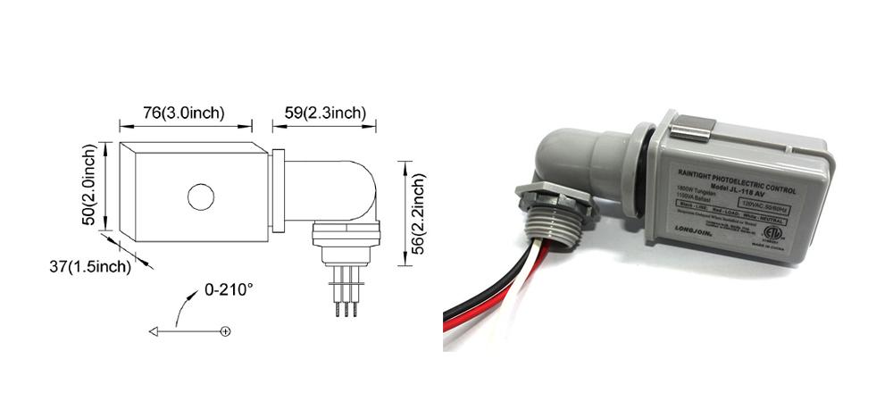 Longjoin光控器 路灯光控器 Photocell Sensor 上海朗骏智能科技有限公司官网